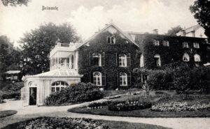 villa op landgoed Belmonte rond 1900